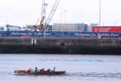 Rowing on the Liffey