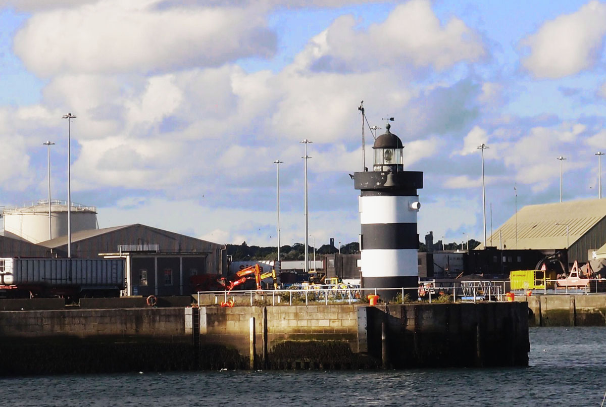 North Wall Quay lighthouse