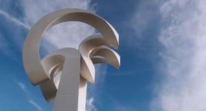 Mexican monument in Sandymount Dublin
