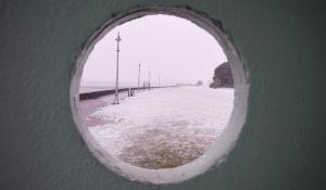 Dublin Snow storm March 2018 - Clontarf pier