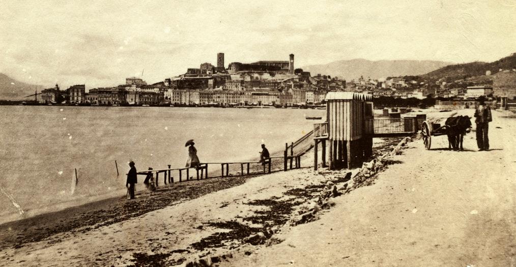 1860 La Croisette by Charles Negre