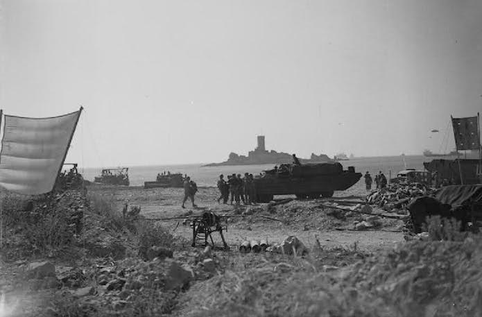 Dramont Beach 1945