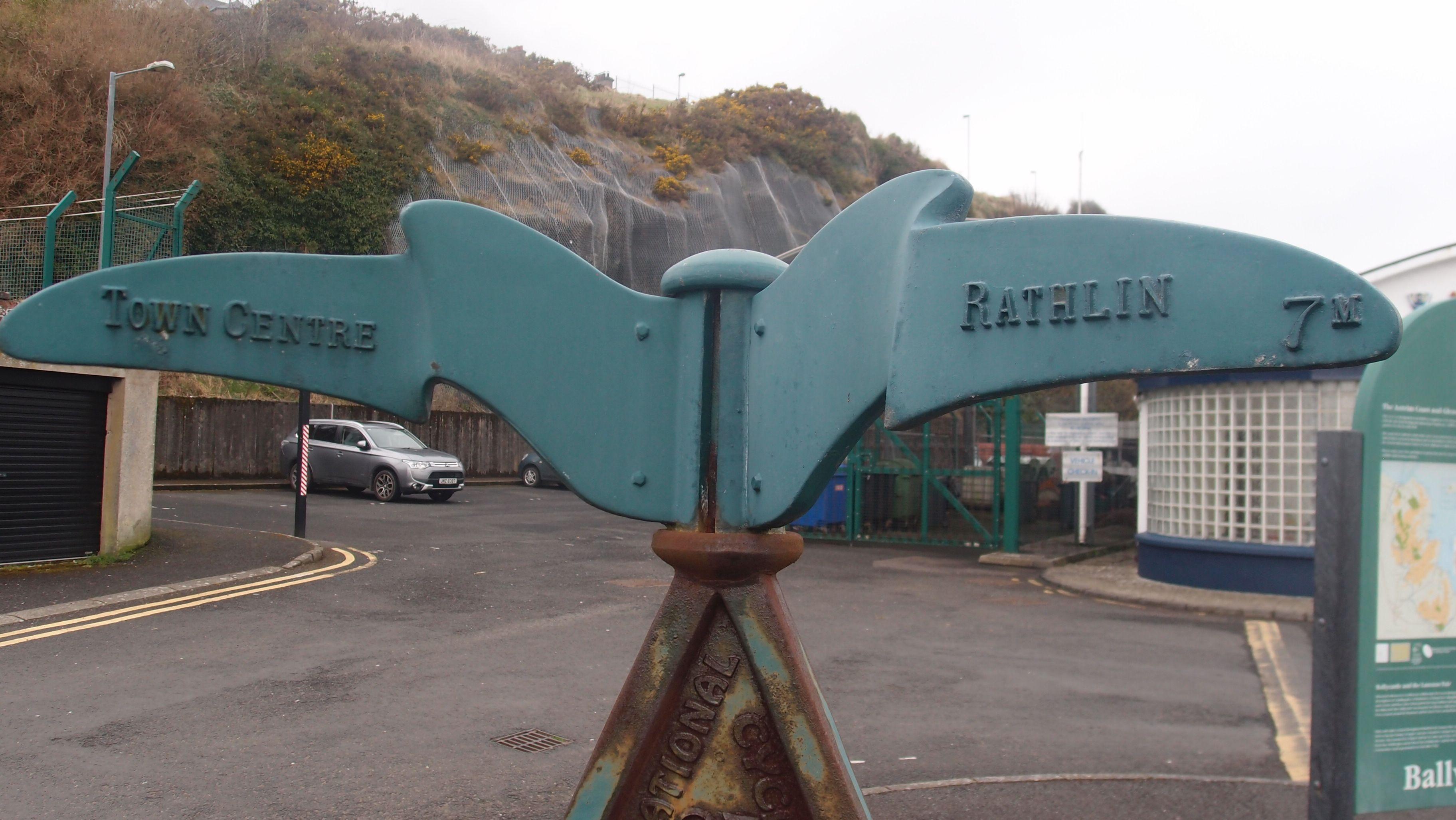 Ballycastle - Millenium Signpost