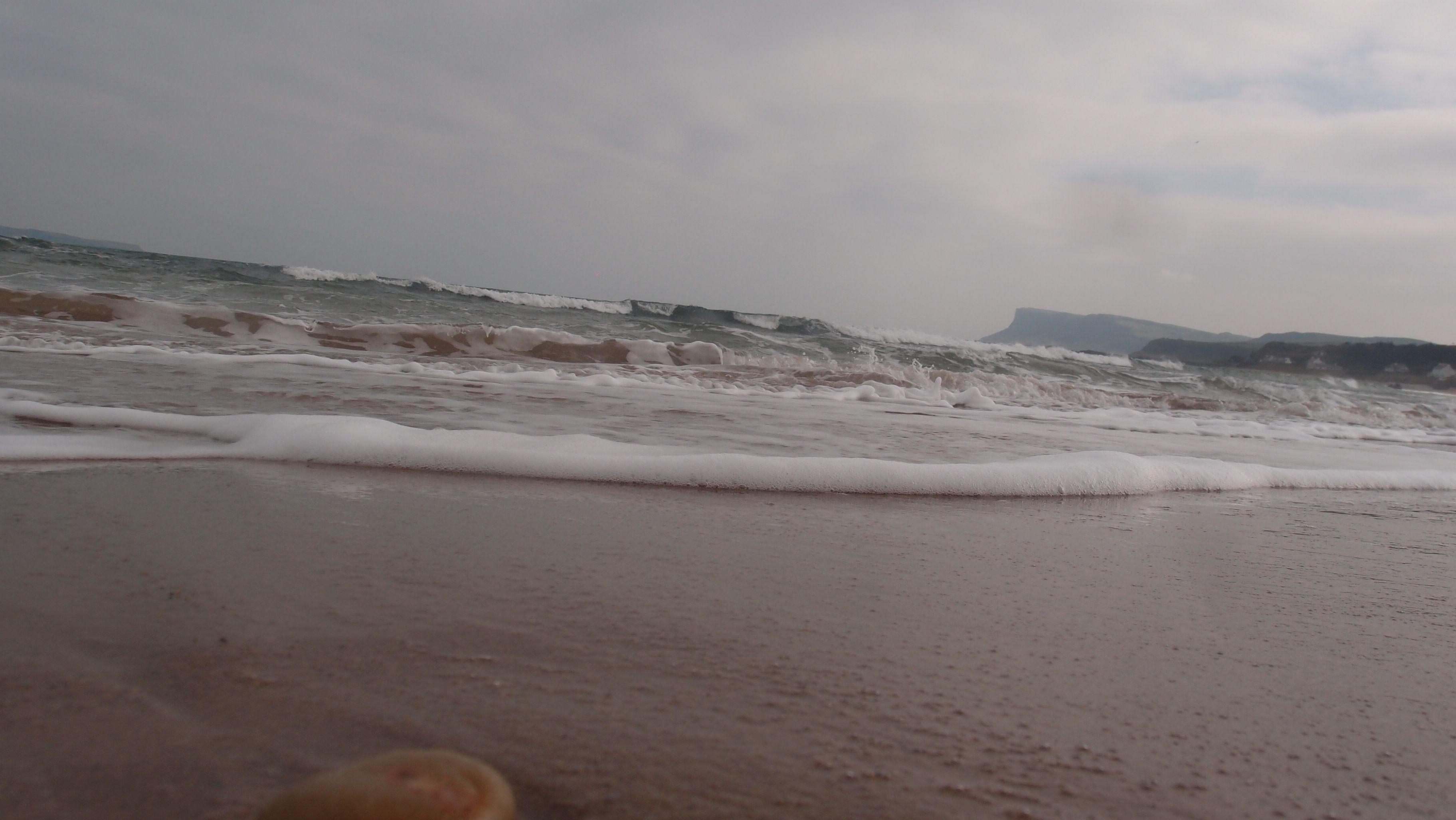 Ballycastle sea foam