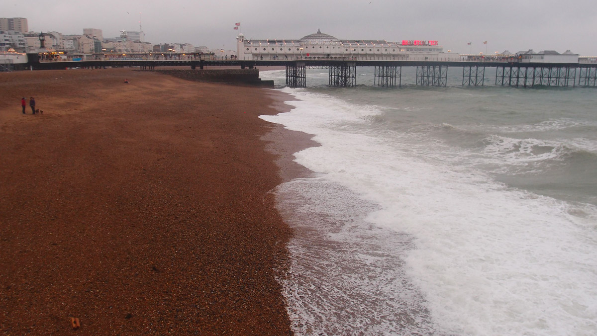 Brighton Palace Pier from Shore