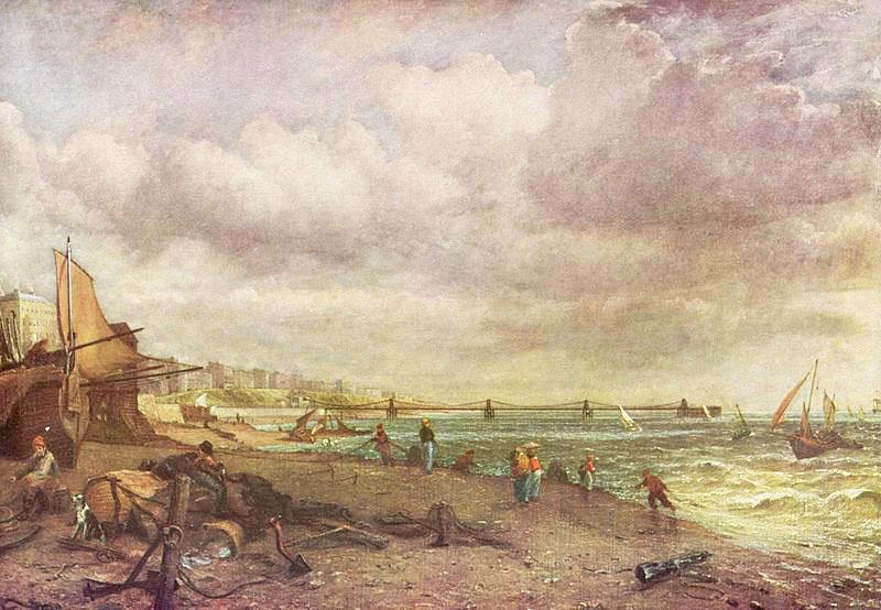 Chain Pier, Brighton - 1826–7