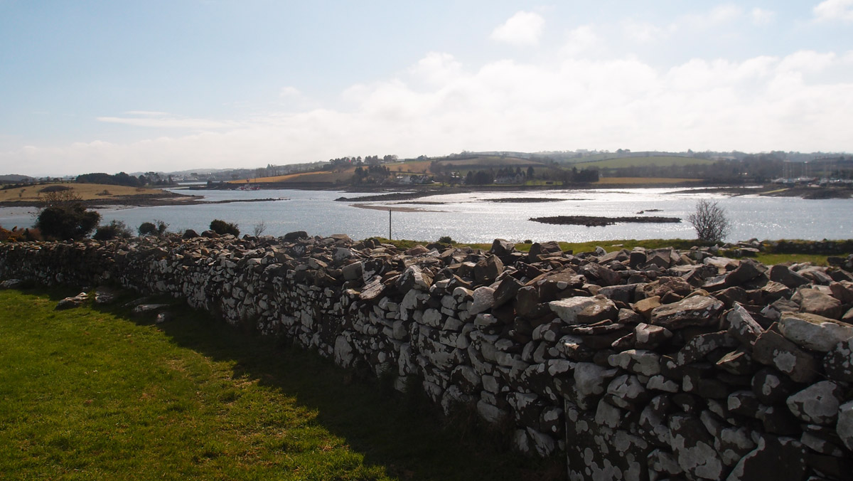 Nendrum monastic site and Strangford Lough