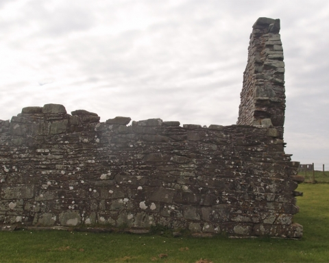 Ruins of Church, St Johns Point, County Down