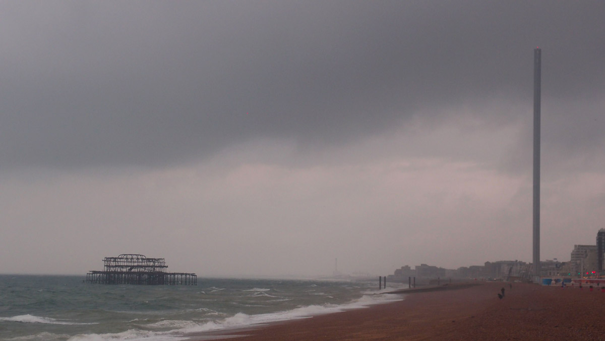 West Pier and i360