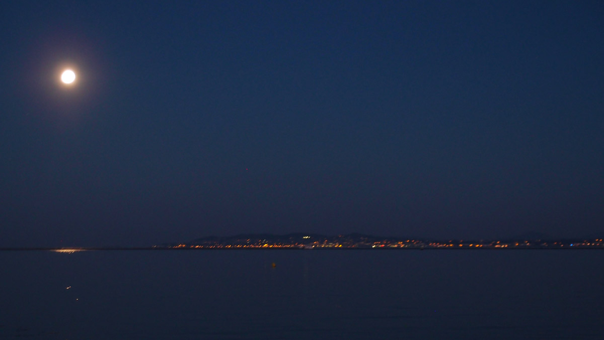 Summer nights sky from Bull Island