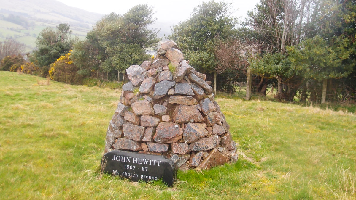 Monument - Poet of the Glens - John Hewitt