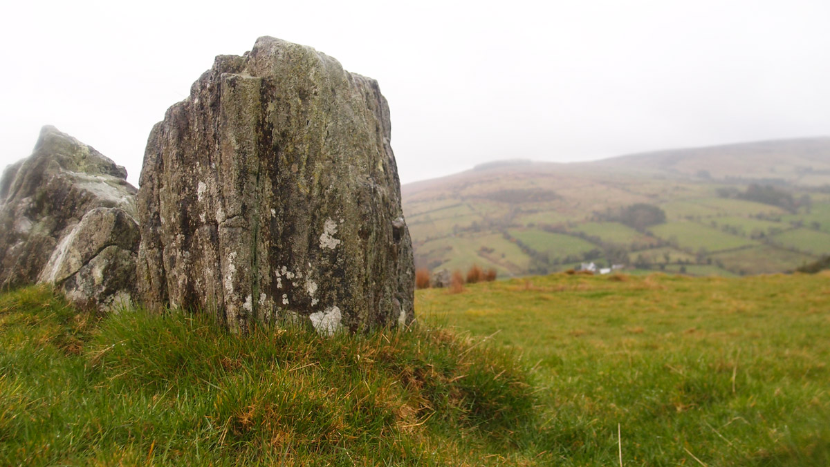 Ossian's Grave - megalithic court cairn - Cushendall