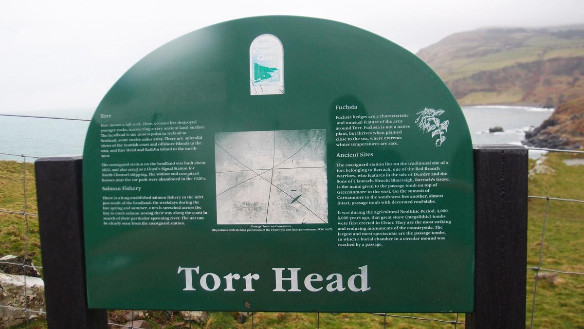 Torr Head Info Sign