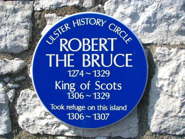Robert the Bruce Plaque, Rathlin