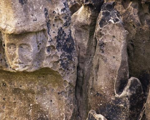 Ballycastle Mysterious Face