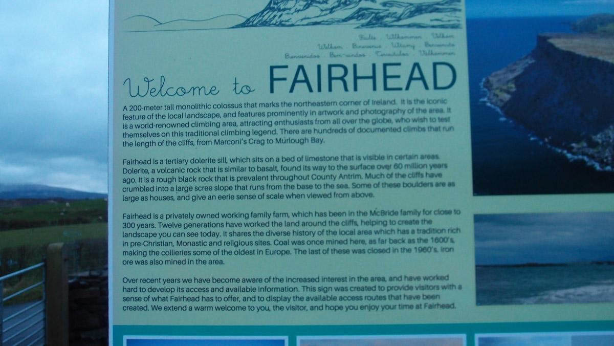 Fairhead Antrim
