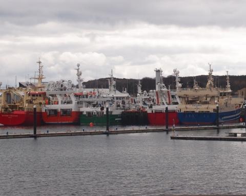 Killybegs Donegal Fishing Port