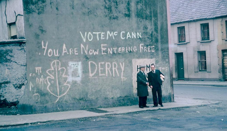 Free Derry Original Sign