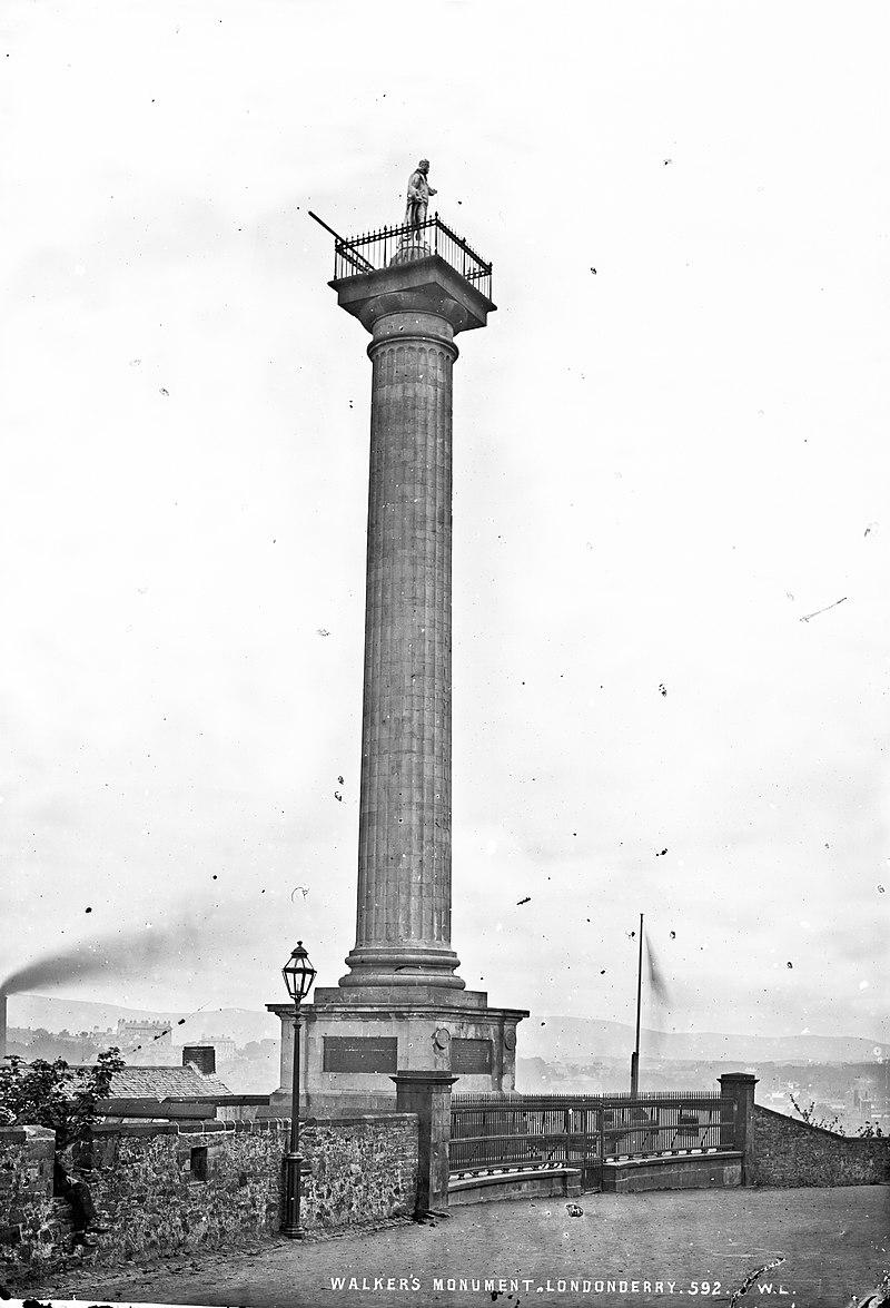 Derry Walker siege memorial